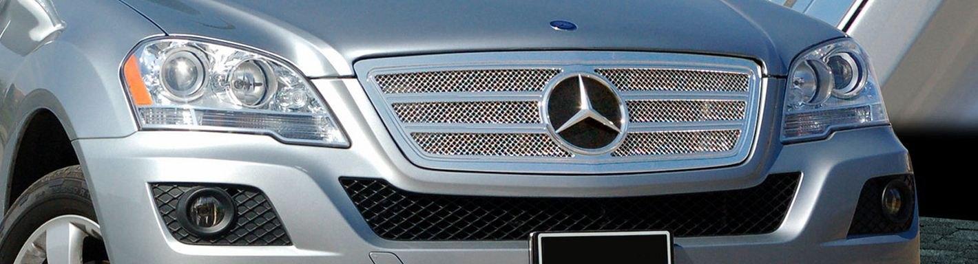 2010 mercedes m class custom grilles billet mesh led for Mercedes benz custom grills