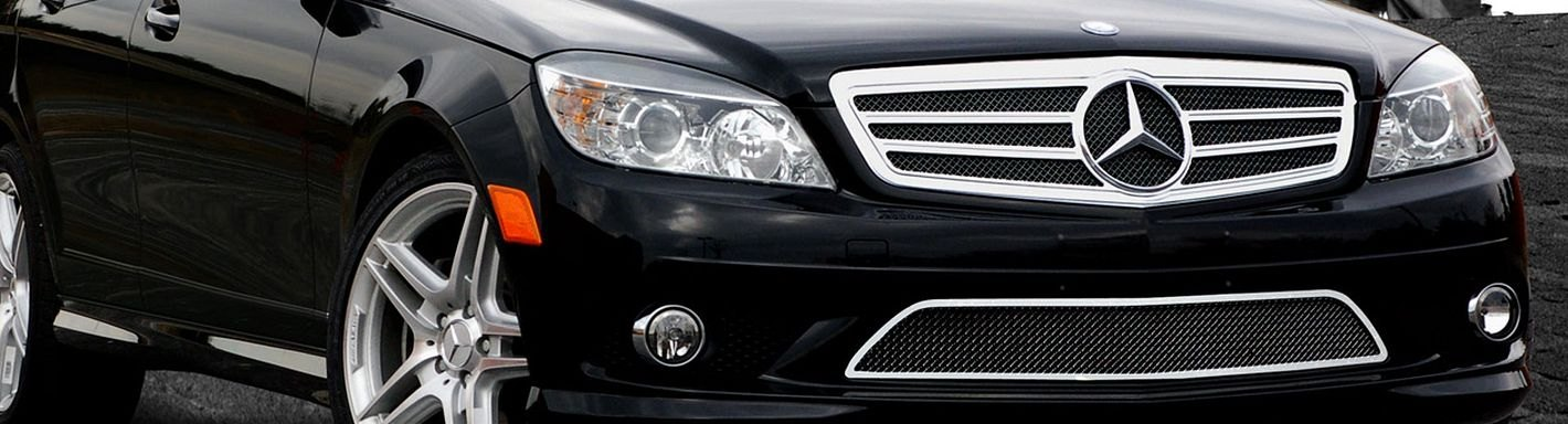 2013 mercedes c class wire mesh grilles for Mercedes benz c300 aftermarket accessories