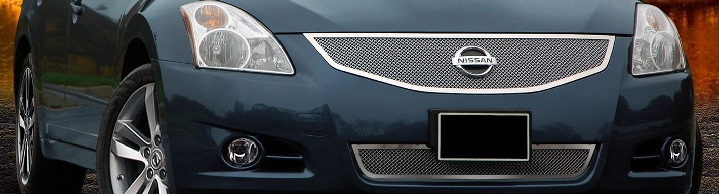 2012 nissan altima custom grilles billet mesh led. Black Bedroom Furniture Sets. Home Design Ideas