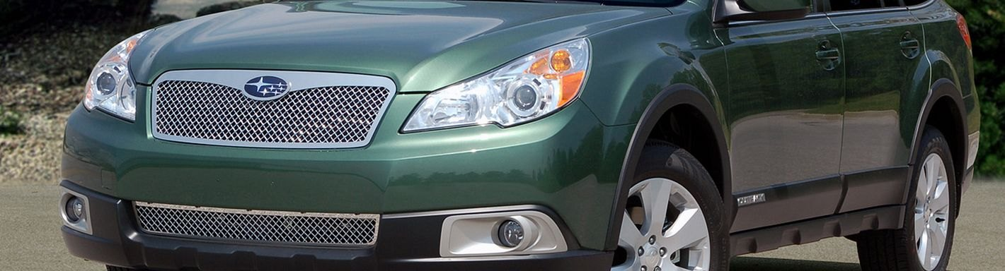 2001 Subaru Outback Custom >> 2010 Subaru Outback Custom Grilles | Billet, Mesh, LED, Chrome, Black