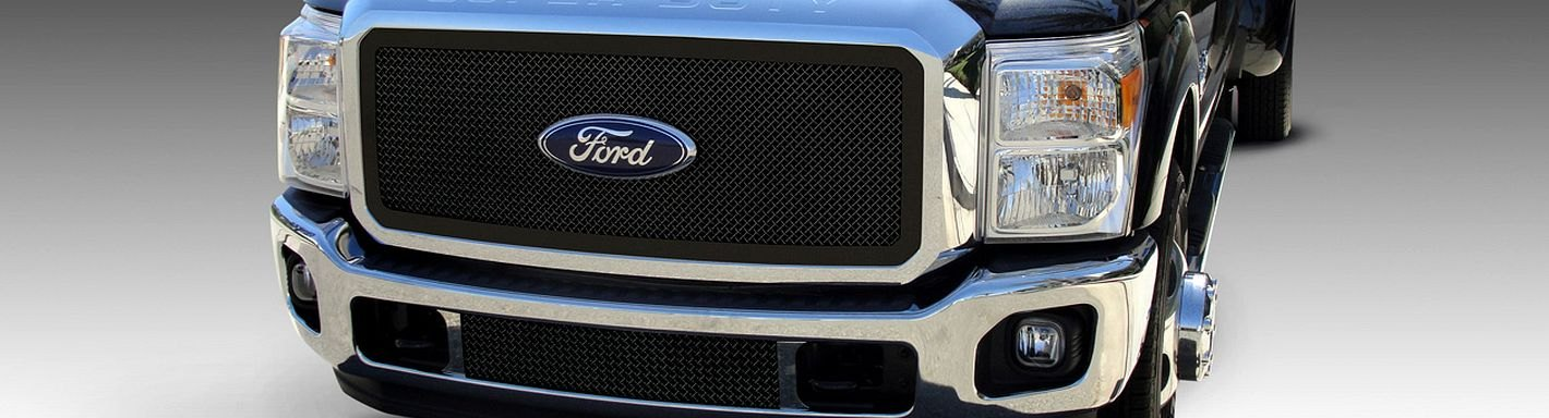 Ford F-450 Custom Grilles - 2011