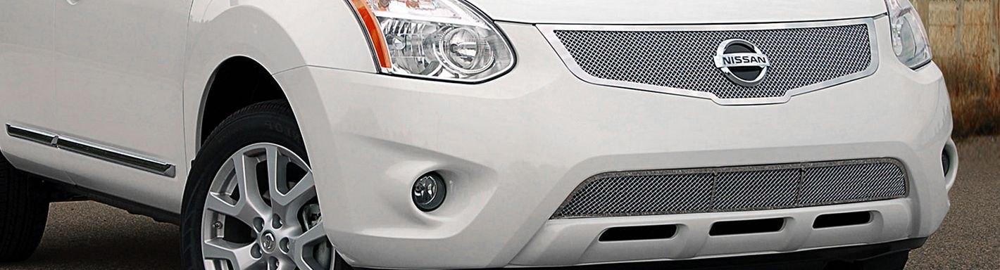 2011 Nissan Rogue Custom Grilles | Billet, Mesh, LED ...