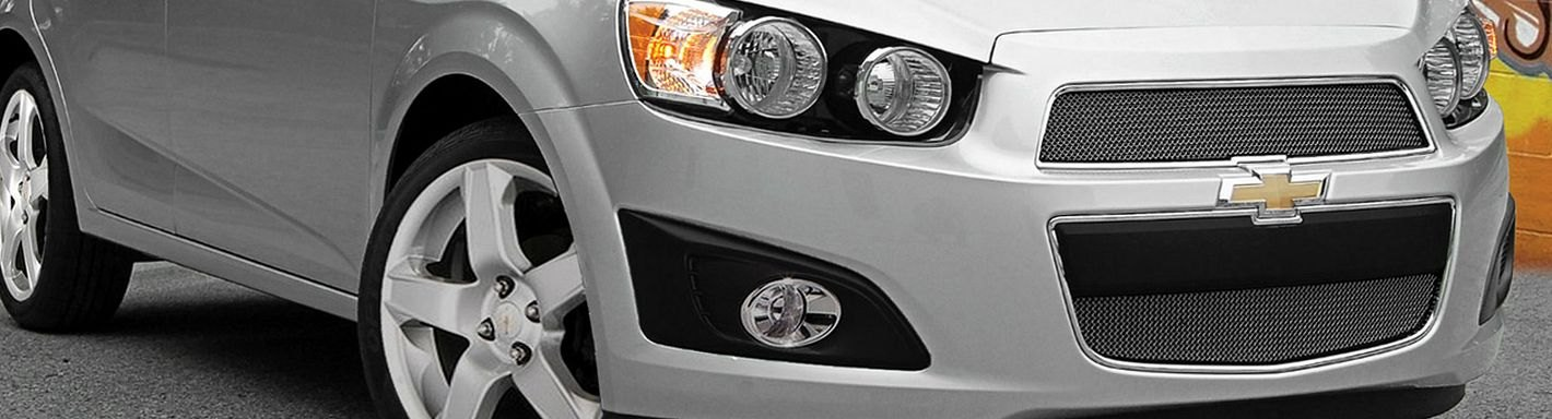 Chevy Sonic Custom Grilles - 2013