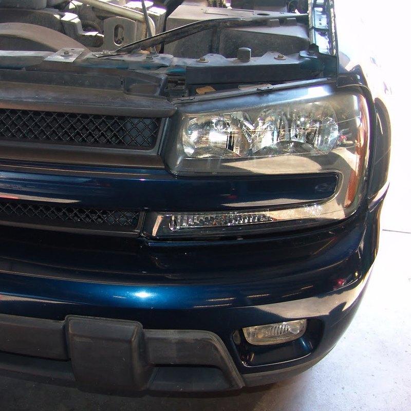 GTS® - Chevy Trailblazer 2003 Headlight Covers