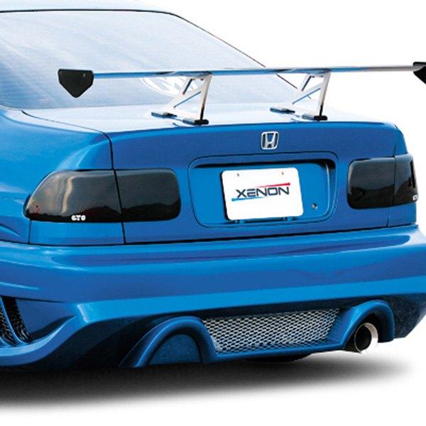 Honda Civic Coupe 2000 Blackouts™ Tail Light Covers