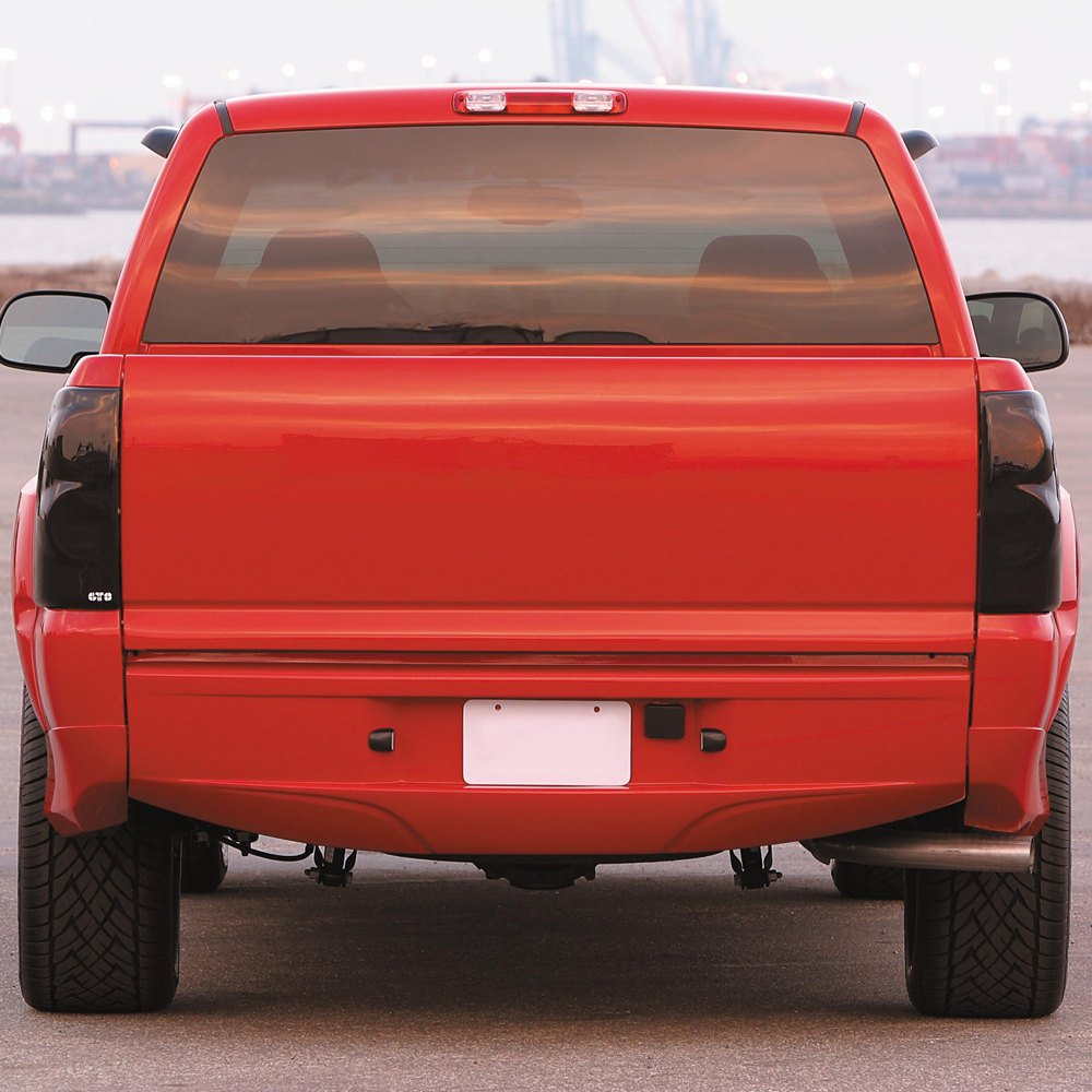 gts chevy silverado 2003 2005 blackouts tail light covers. Black Bedroom Furniture Sets. Home Design Ideas
