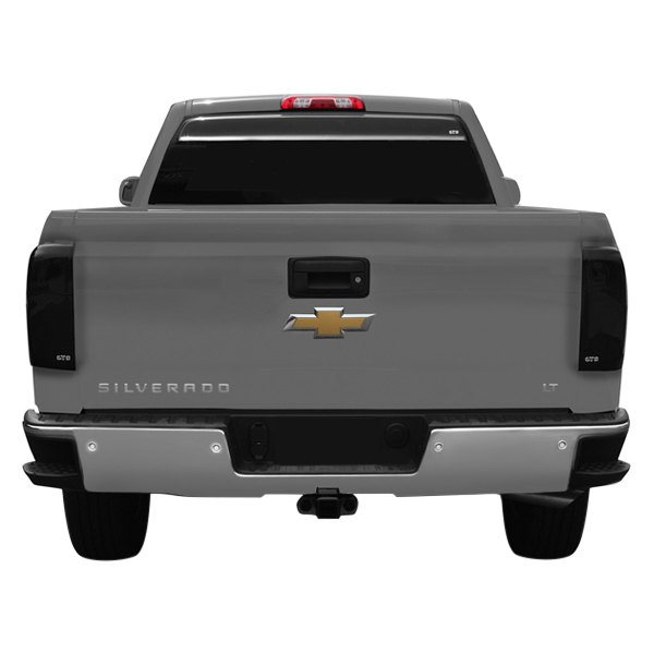gts chevy silverado 1500 2014 2015 blackouts tail light covers. Black Bedroom Furniture Sets. Home Design Ideas