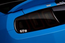 GTS® - Tail Light Covers on Ford Shelby GT500