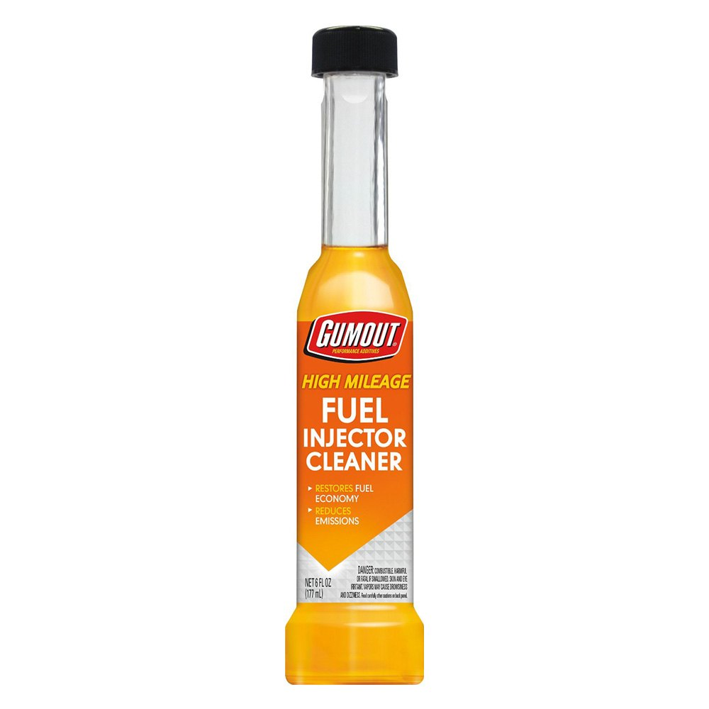 Gumout® 12010 - High Mileage Fuel Injector Cleaner 6 oz, 6