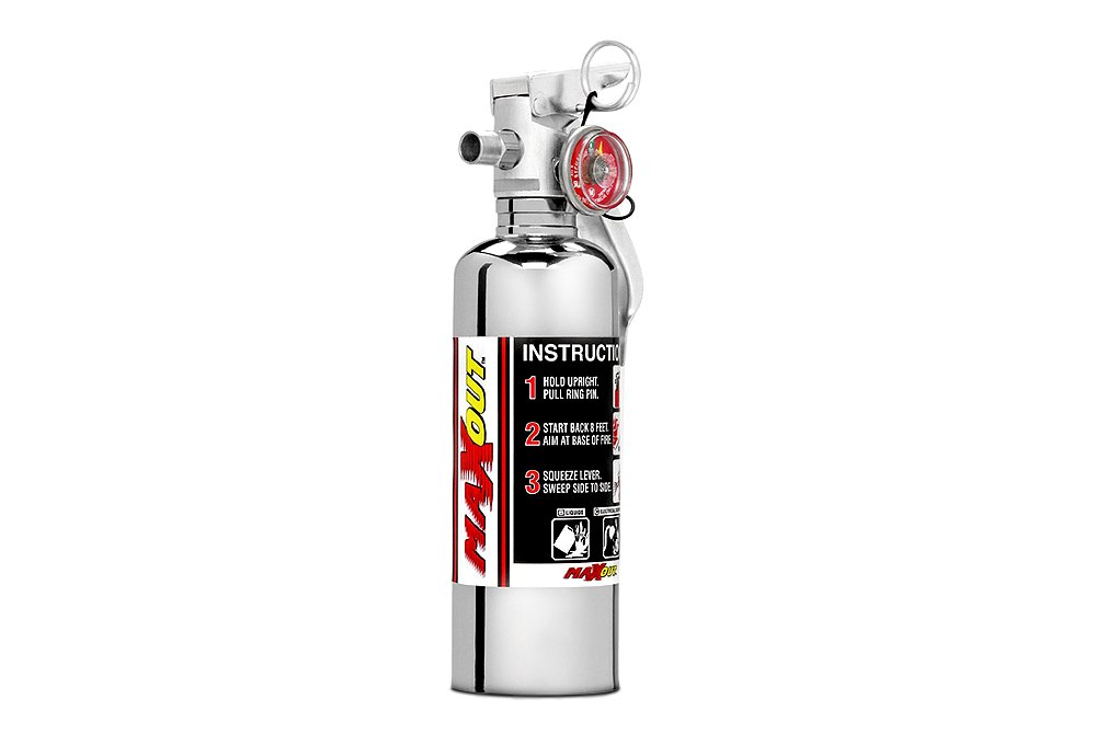 H3R Performance BB100B Brushed Billet Fire Extinguisher Band Clamp