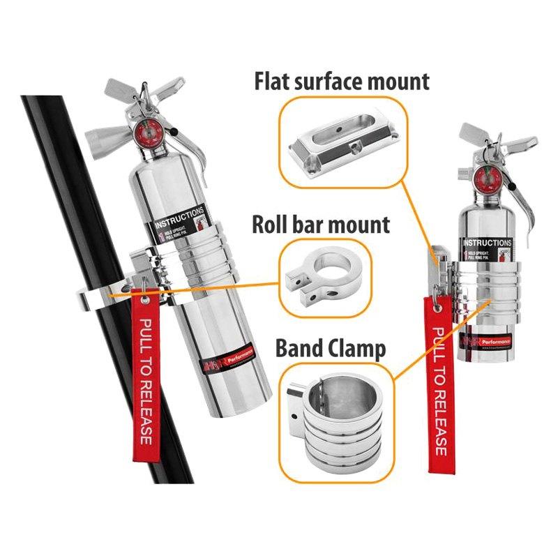 Fire Extinguisher Holder for UTV Roll Bar - Honda Polaris ... |Fire Extinguisher Roll Bar Mount