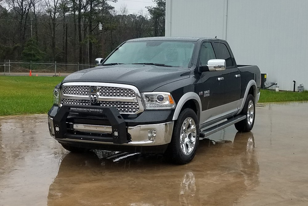 Dodge Ram Bull Bar >> Hammerhead Black Bull Bar W O Skid Plate