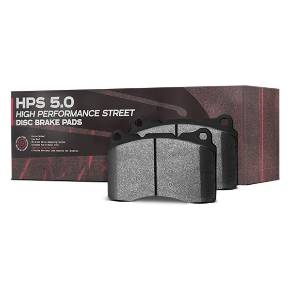 Hawk Performance Mustang Front Brake Pads: Ford Mustang 2017 High Performance Street 5.0