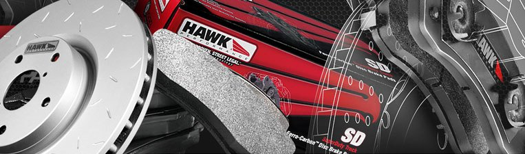 HAWK Brake Pads and Rottors