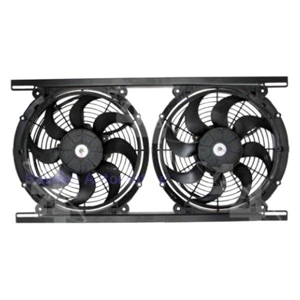 Hayden Dual Electric Fan Kit eBay #465C85