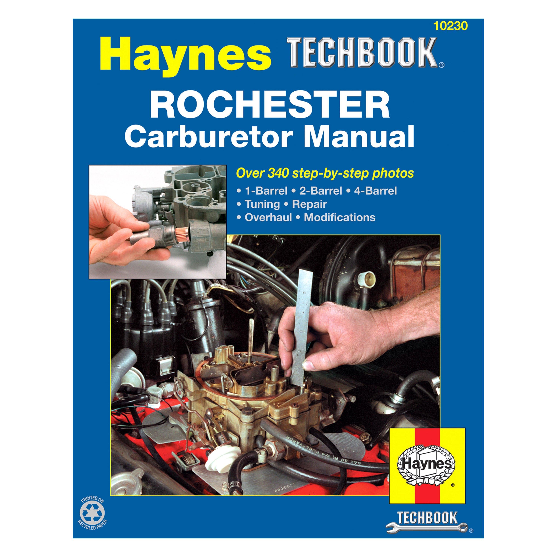 haynes manuals 10230 rochester carburetor techbook rh carid com Online Repair Manuals Do Yourself Auto Repair Manual