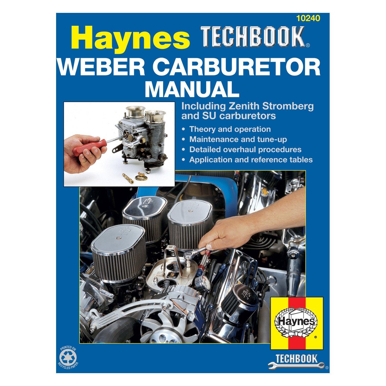 Haynes Manuals® - Weber Carburetor Techbook
