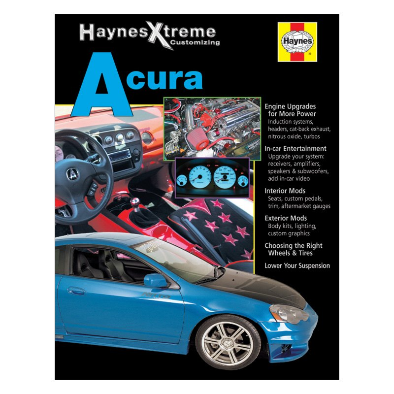 Haynes Manuals® - Extreme Acura Manual  sc 1 st  CARiD.com & Haynes Manuals® 11213 - Extreme Acura Manual