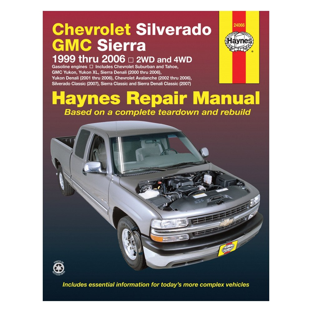 For Chevy Silverado 3500 2001-2006 Haynes Manuals Repair Manual