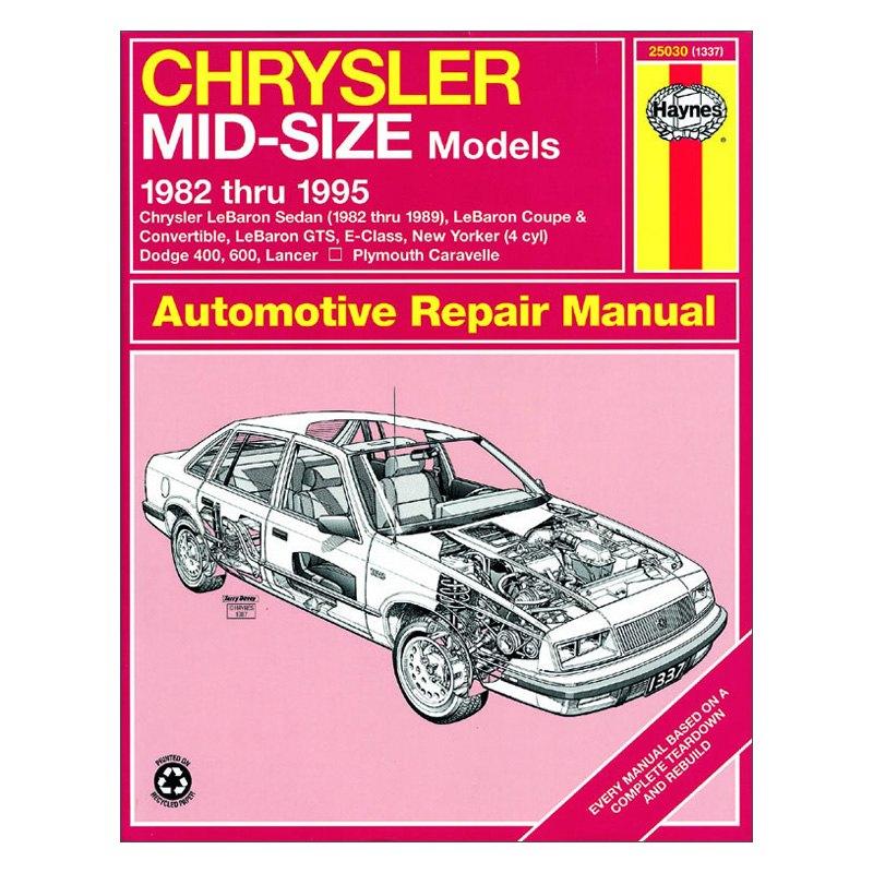 haynes manuals 25030 repair manual rh carid com Isuzu NPR Repair Manual 2006 PT Cruiser Repair Manual