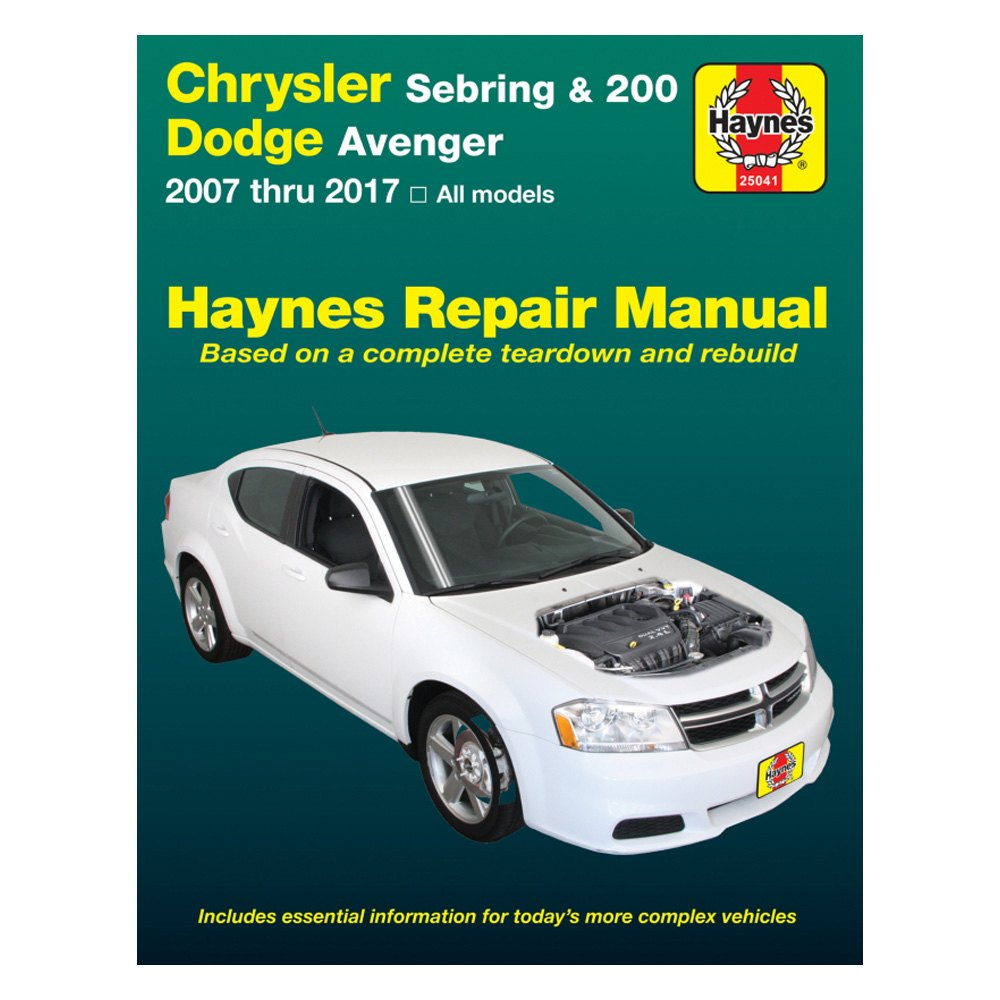 Haynes Manuals U00ae 25041