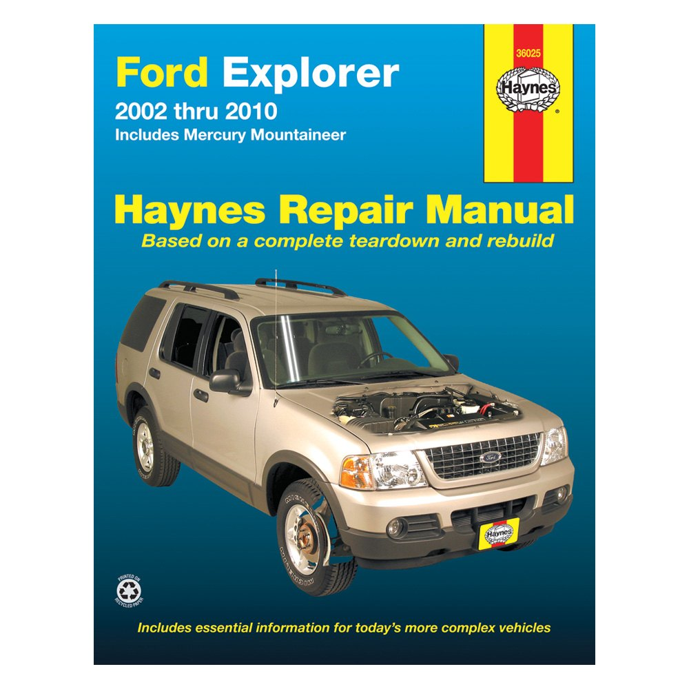 haynes manuals ford explorer 2002 repair manual rh carid com 2002 ford escape service manual free 2002 ford escape service manual free