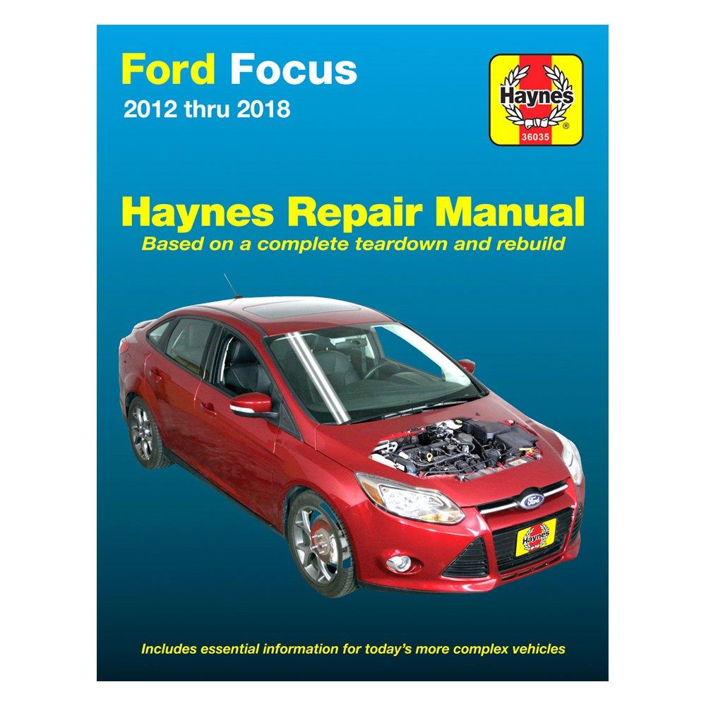 haynes manuals 36035 repair manual rh carid com haynes ford focus repair manual ford focus petrol & diesel (11 - 14) haynes repair manual