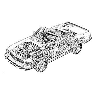 haynes manuals� 63030 repair manual Car Wiring Diagrams at Wiring Diagram For 1973 Mercedes450se