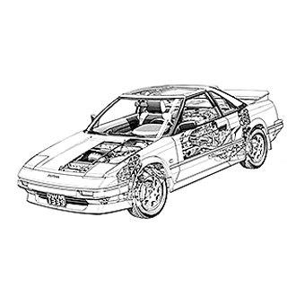 haynes manuals 92065 repair manual rh carid com 1986 Toyota MR2 Interior 1991 Toyota MR2