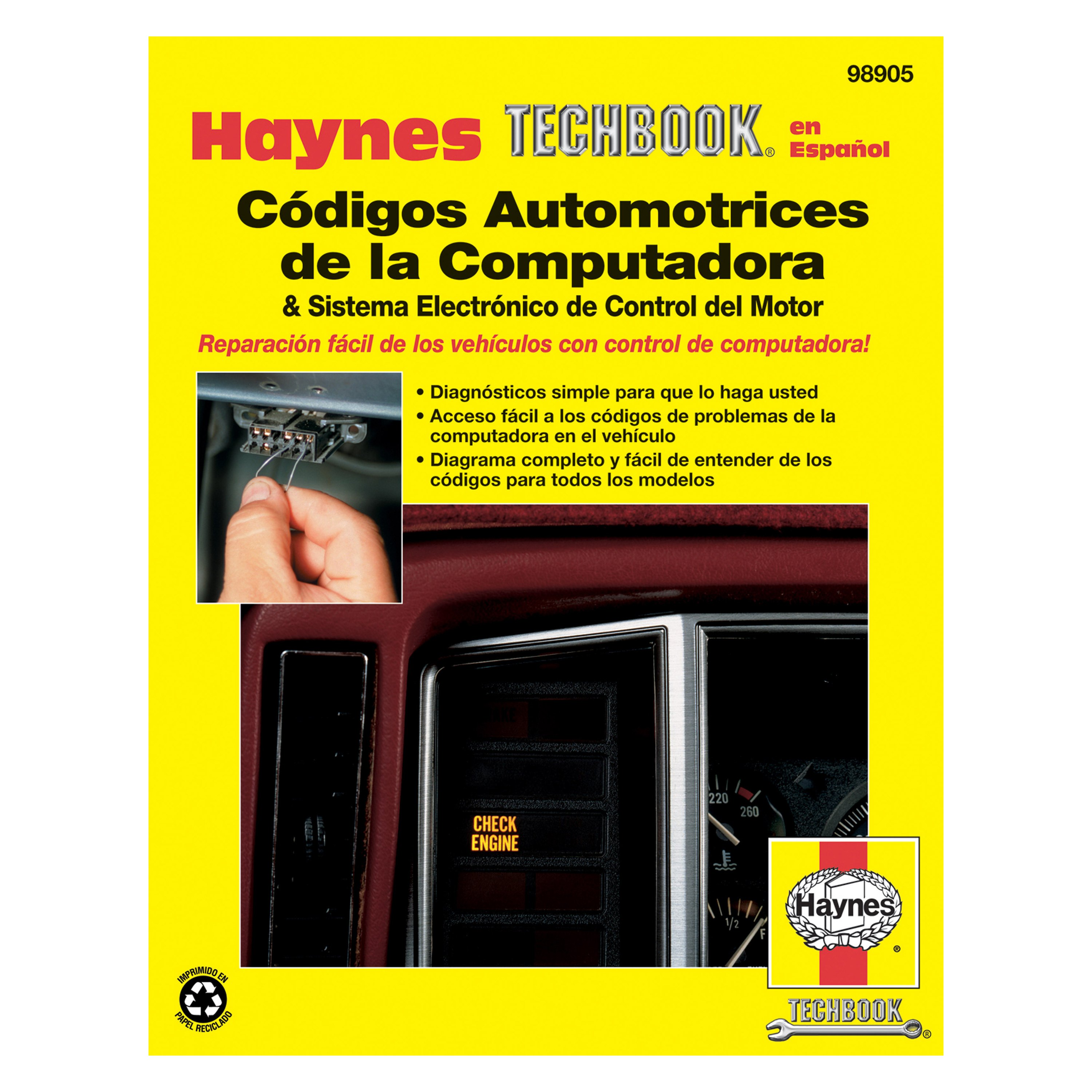 Haynes Manuals® - Automotive Computer Codes and Electronic Engine Management  Systems (81-95