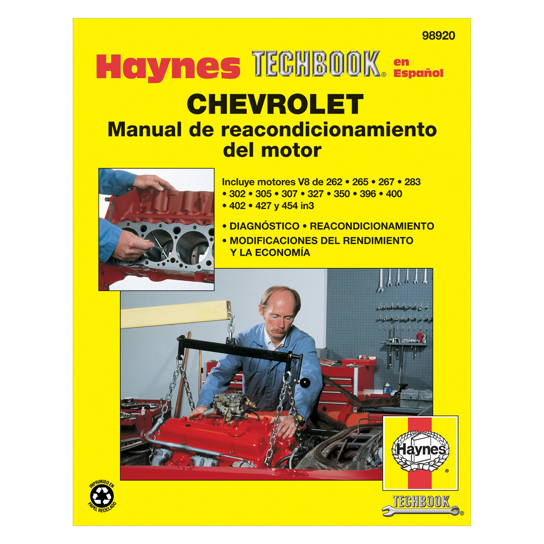 Haynes Manuals® - Chevrolet Engine Overhaul Techbook