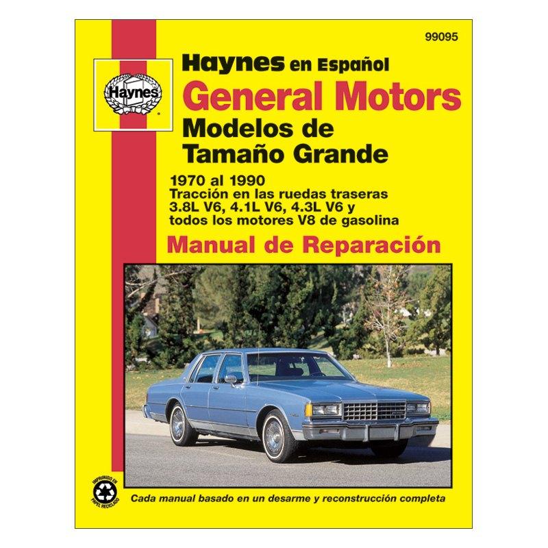 haynes manuals oldsmobile cutlass 1981 repair manual rh carid com Toyota Repair Manual Chevrolet Repair Manual