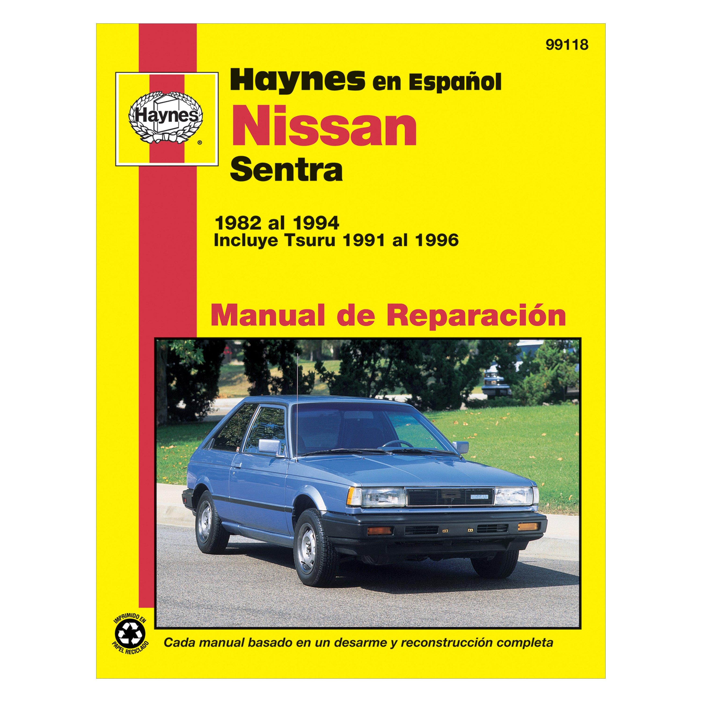 haynes manuals nissan sentra 1982 repair manual carid com rh carid com nissan sentra repair manual pdf nissan sentra repair manual