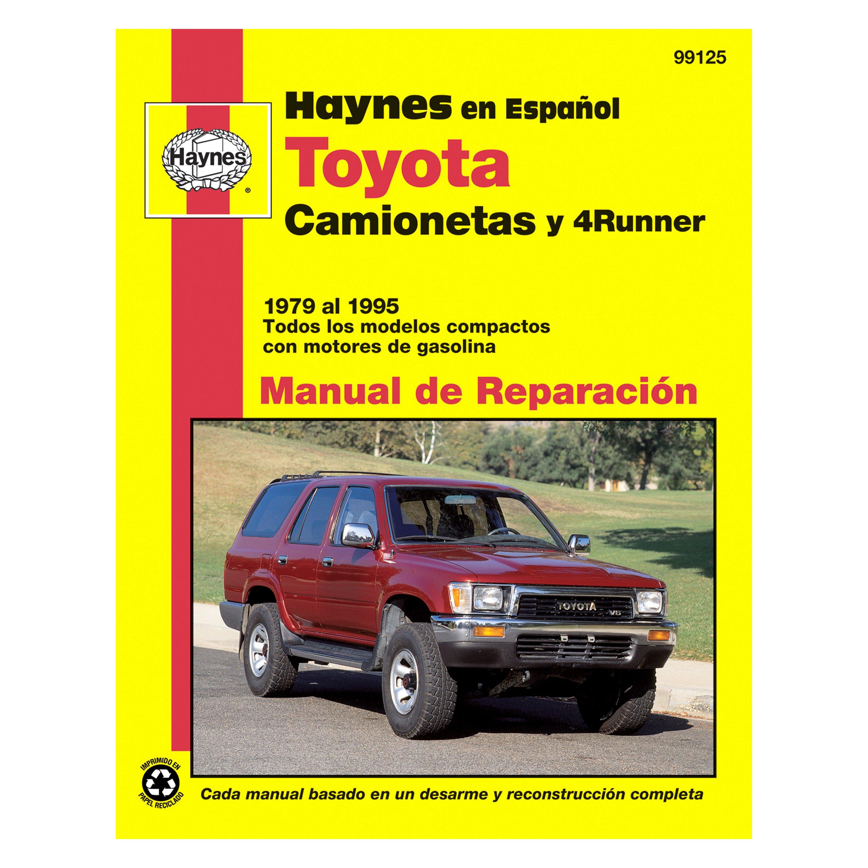 Car Manuals Literature Toyota 4runner 1984 1995 Haynes Usa Workshop Manual Vehicle Parts Accessories Visitestartit Com