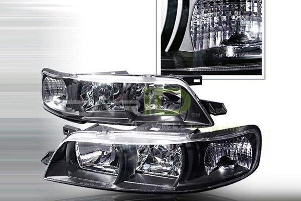 1995 1999 Nissan Maxima Halo Headlights
