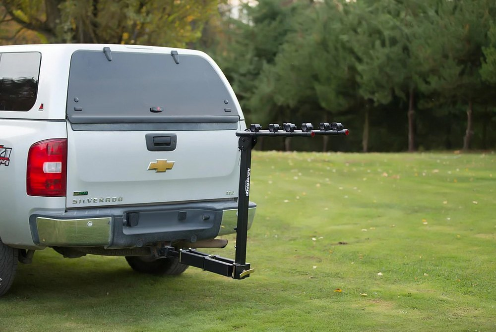 Advantage Glideaway Deluxe Hitch Mount Bike Rack 4 Fits 1 And 2