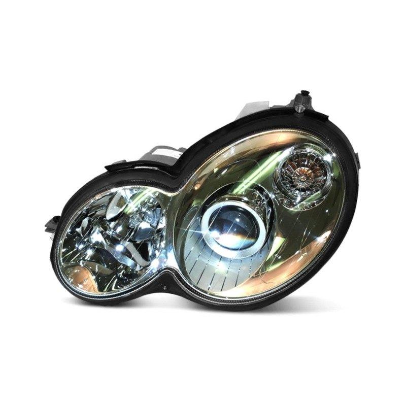 Hella mercedes c class 2005 replacement headlight for Mercedes benz headlight replacement