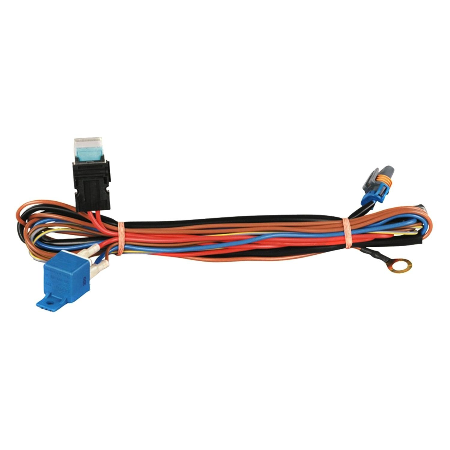 Hella® - High Performance Xenon/HID Wiring Harness for Micro DE Premium for  2