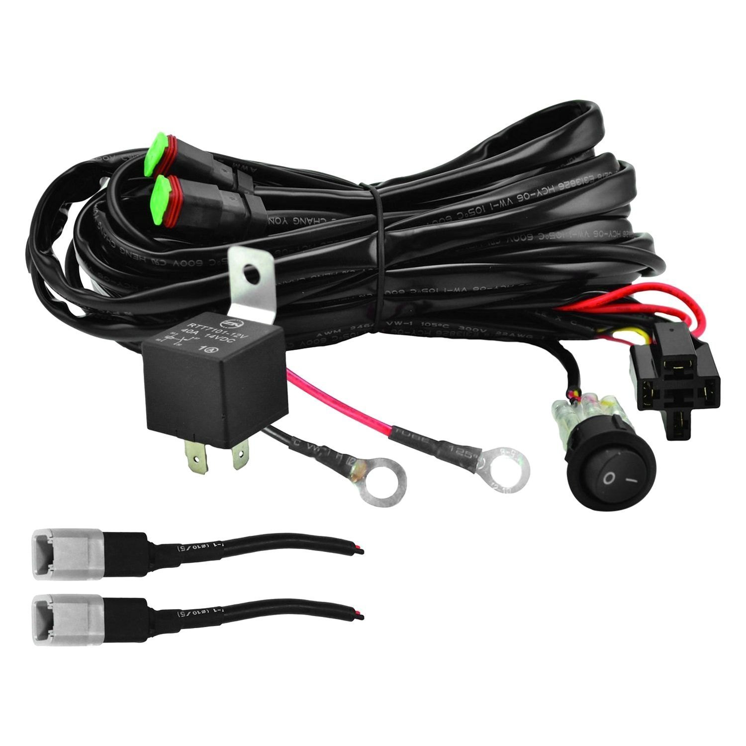 Electrical Wiring For Lamps Hella 357211011 Harness Valuefit Series 2