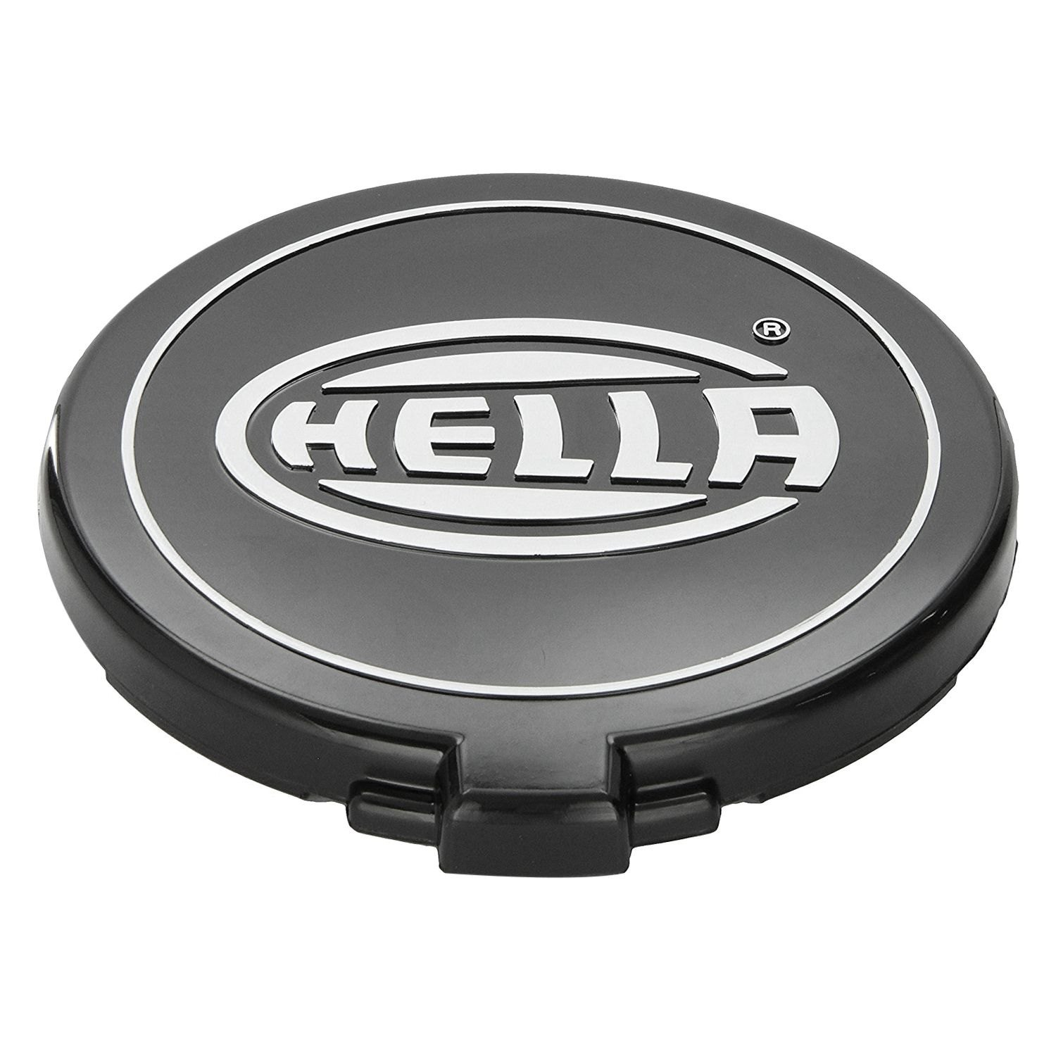 Plastic Light Covers >> Hella H73146011 6 4 Round Black Plastic Light Covers With White Logo For 500 Series