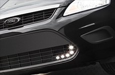 Hella® - LED Lights on Ford Focus