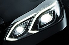 Hella® - Headlamps Showing Low Beam