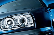 Hella® - Projector Headlights on Volkswagen Golf