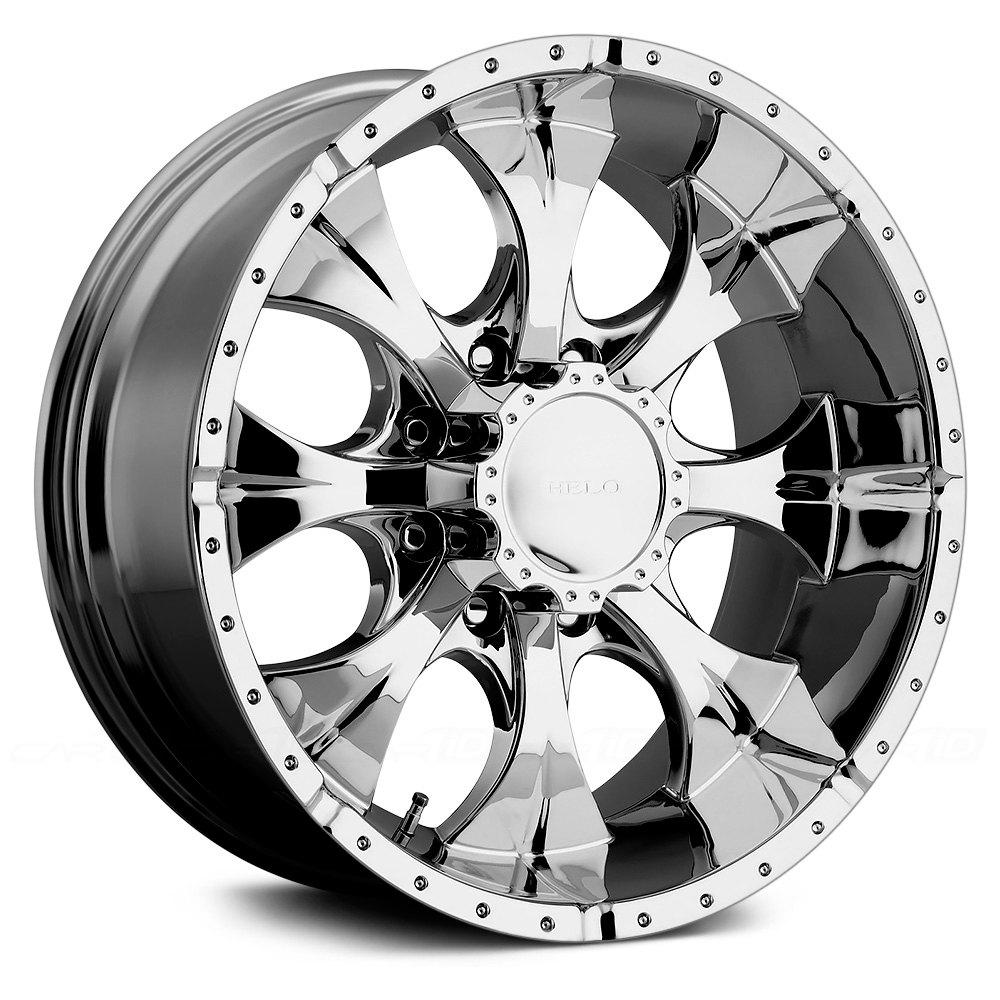 HELO® HE791 MAXX Wheels - Chrome Rims