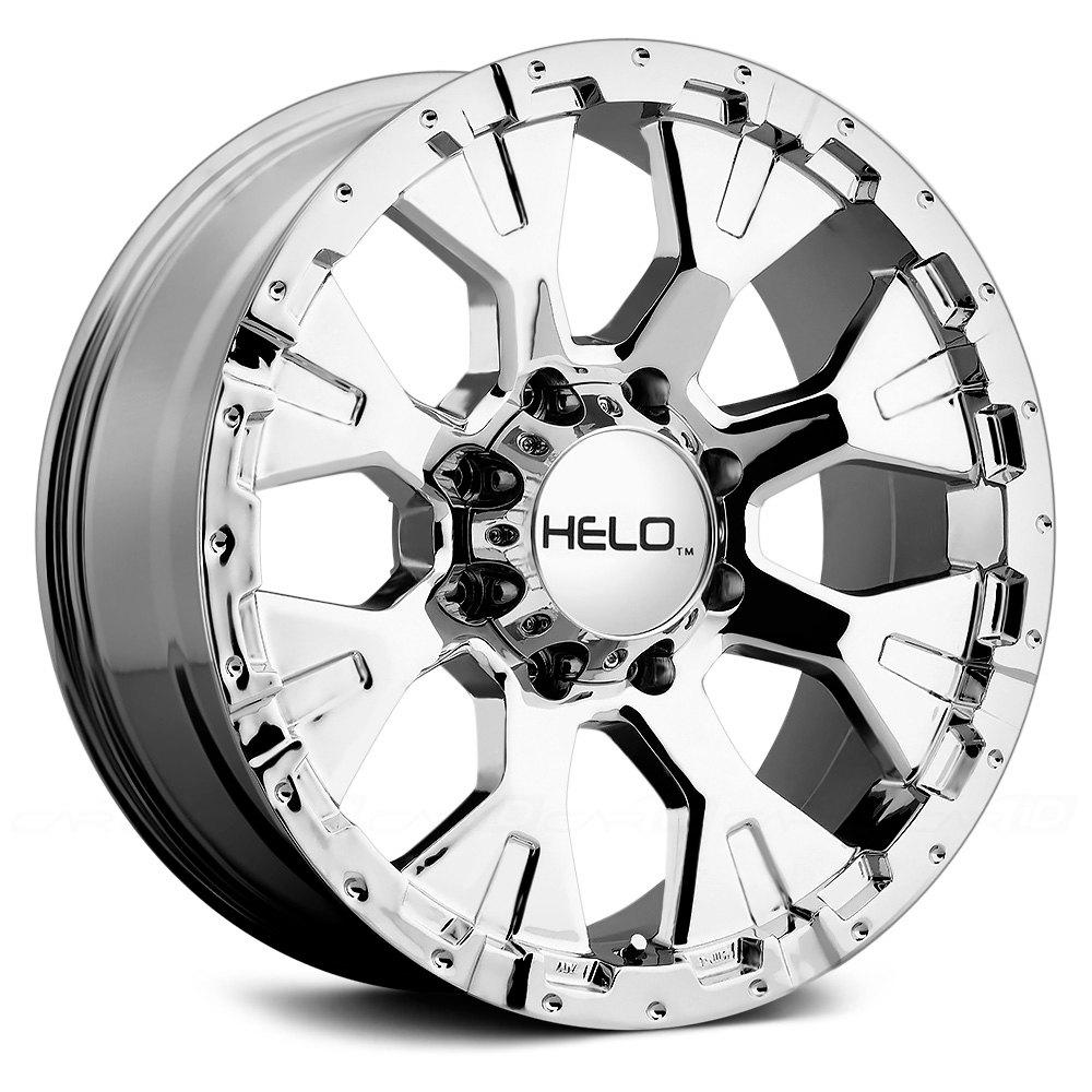 HELO® HE878 Wheels - Chrome Rims
