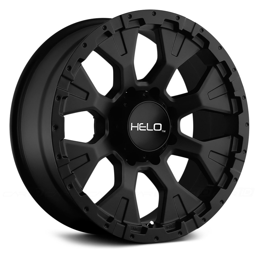 Helo 174 He878 Wheels Satin Black Rims