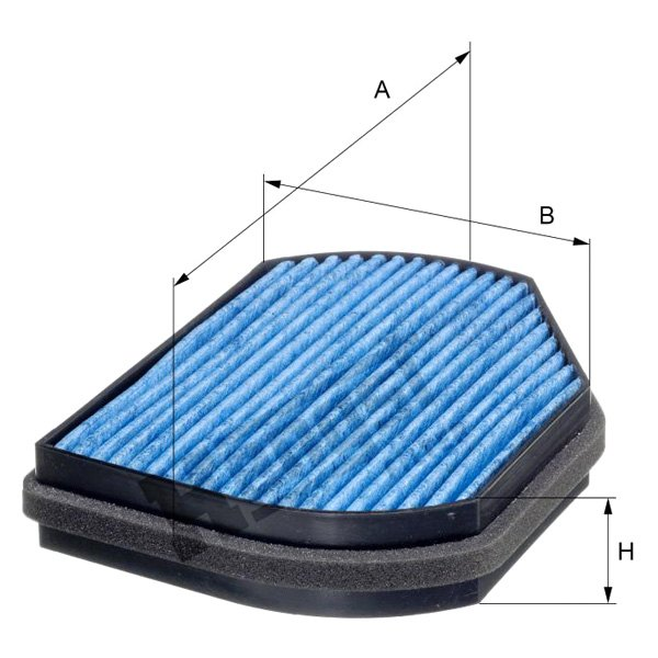 Volvo V40 2014-2016 Hengst Air Filter Filtration System Replacement