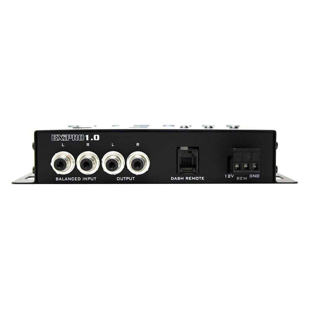 Hifonics Bxipro10 Digital Bass Enhancement Processor How To Build Stereo Preamplifier With Boost