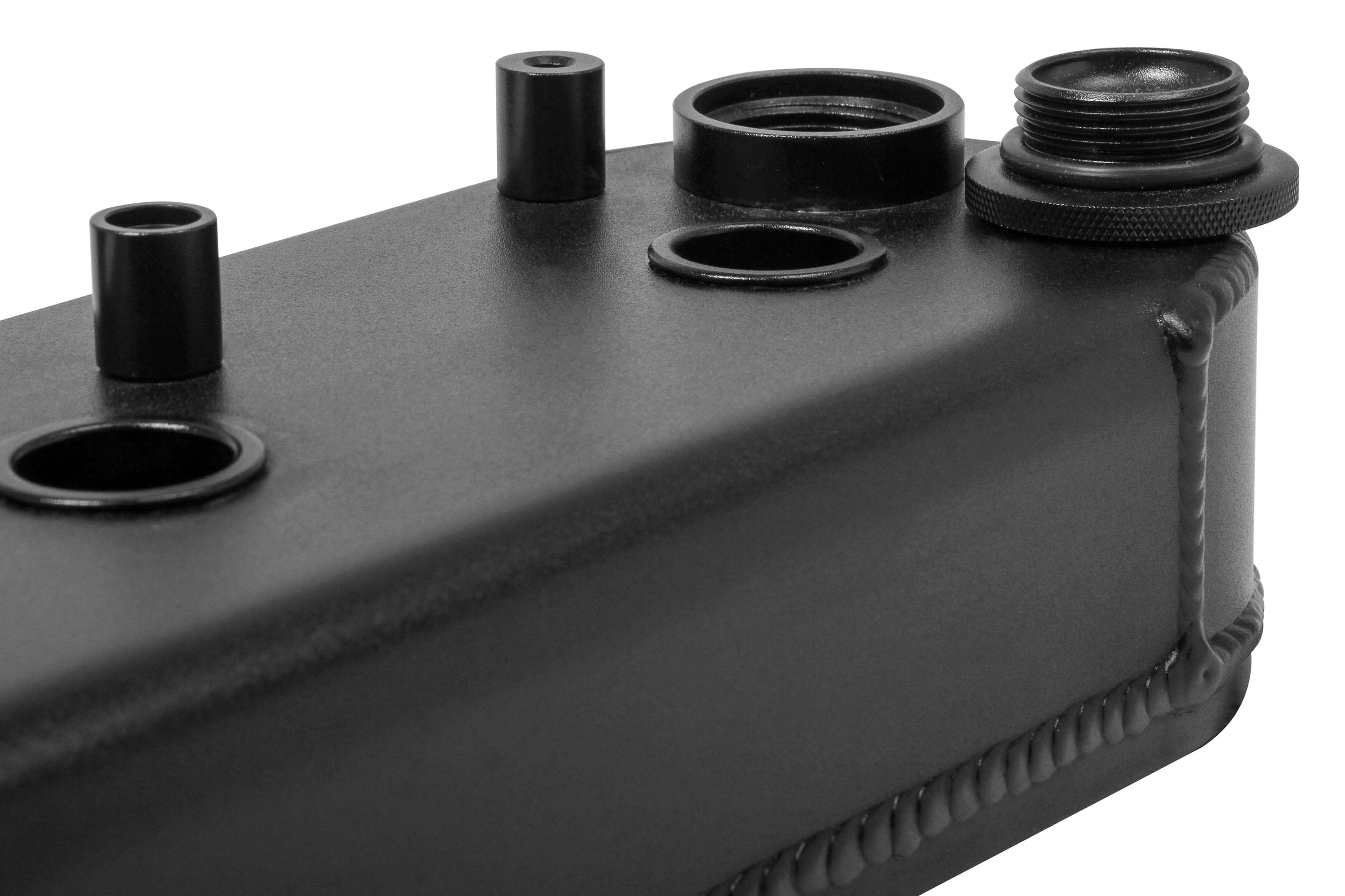 Holley® 241-294 - Track Series Valve Cover with Coil Stand (GM LS Small  Block)