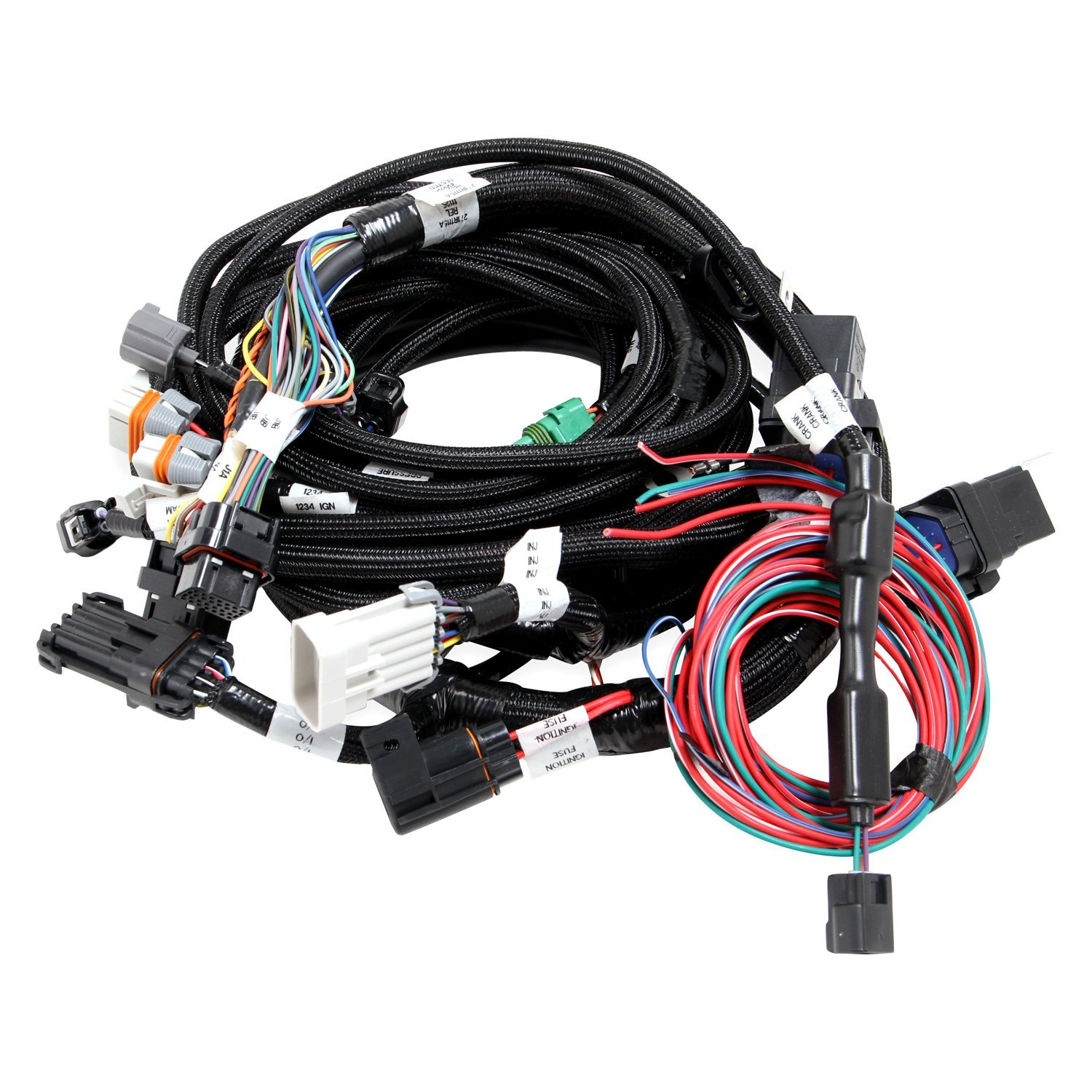Holley Ford Mustang 2001 Dominator Efi Harness Kit Picing Wiring Kits Main For Smart Coils